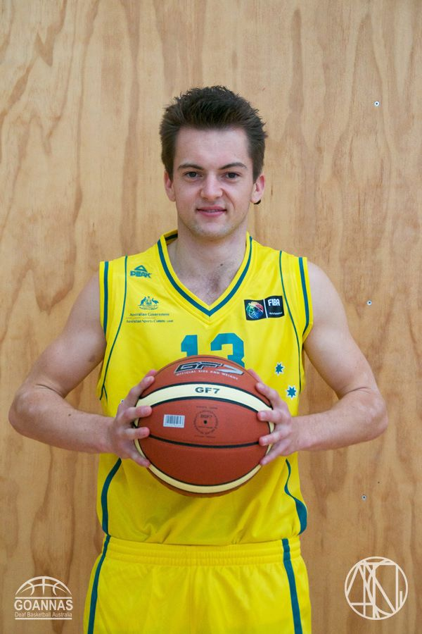 Basketball Deaf championship Sam Cartledge